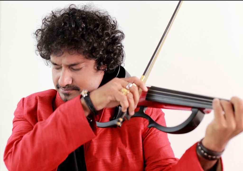 manoj george Indian violinist