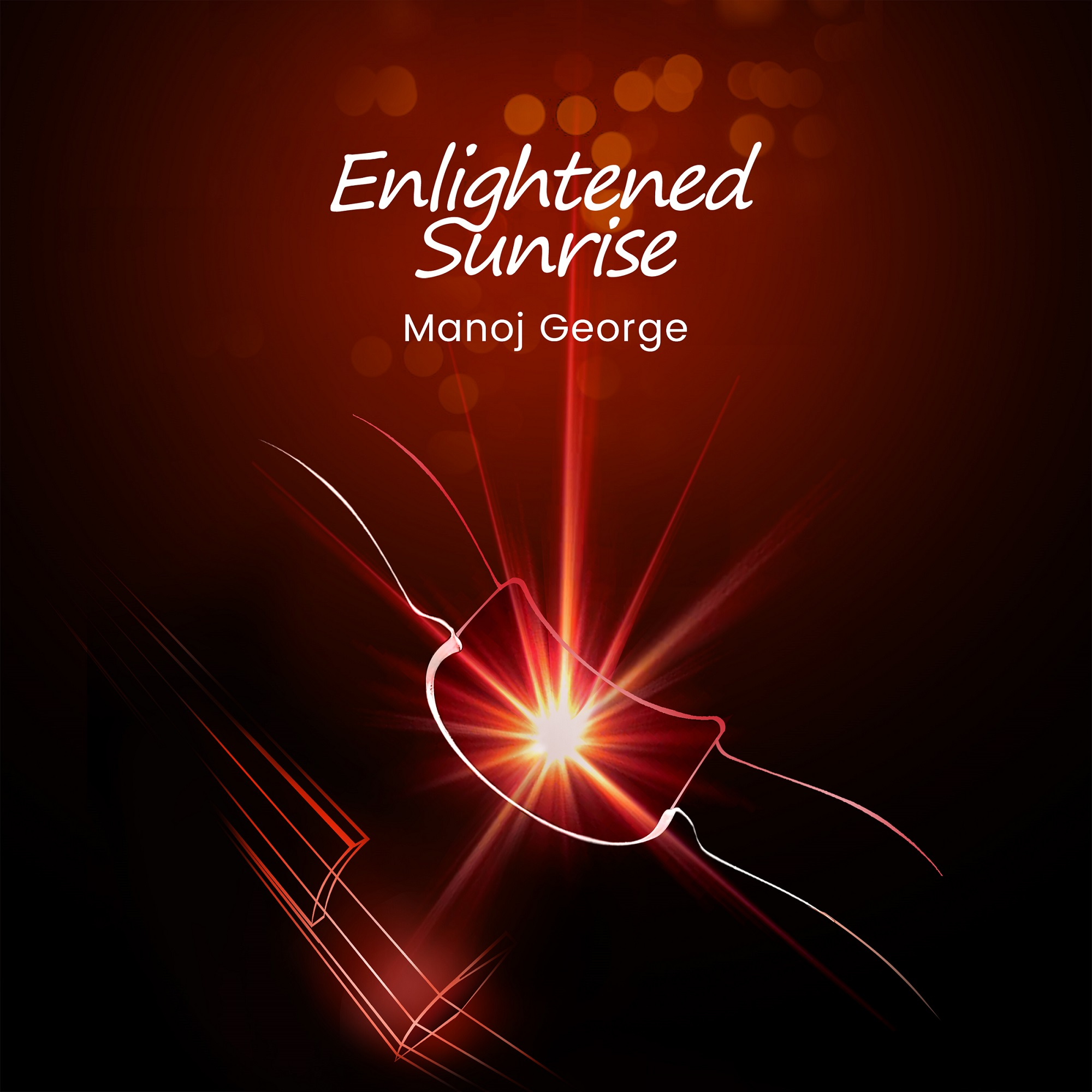 Instrumental album enlightened sunrise by Manoj George